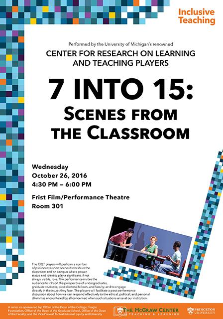 7 into 15 Scenes from the Classroom