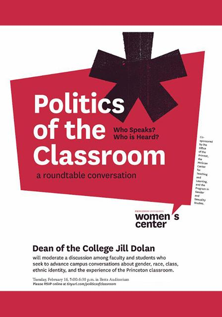 Politics of the Classroom poster