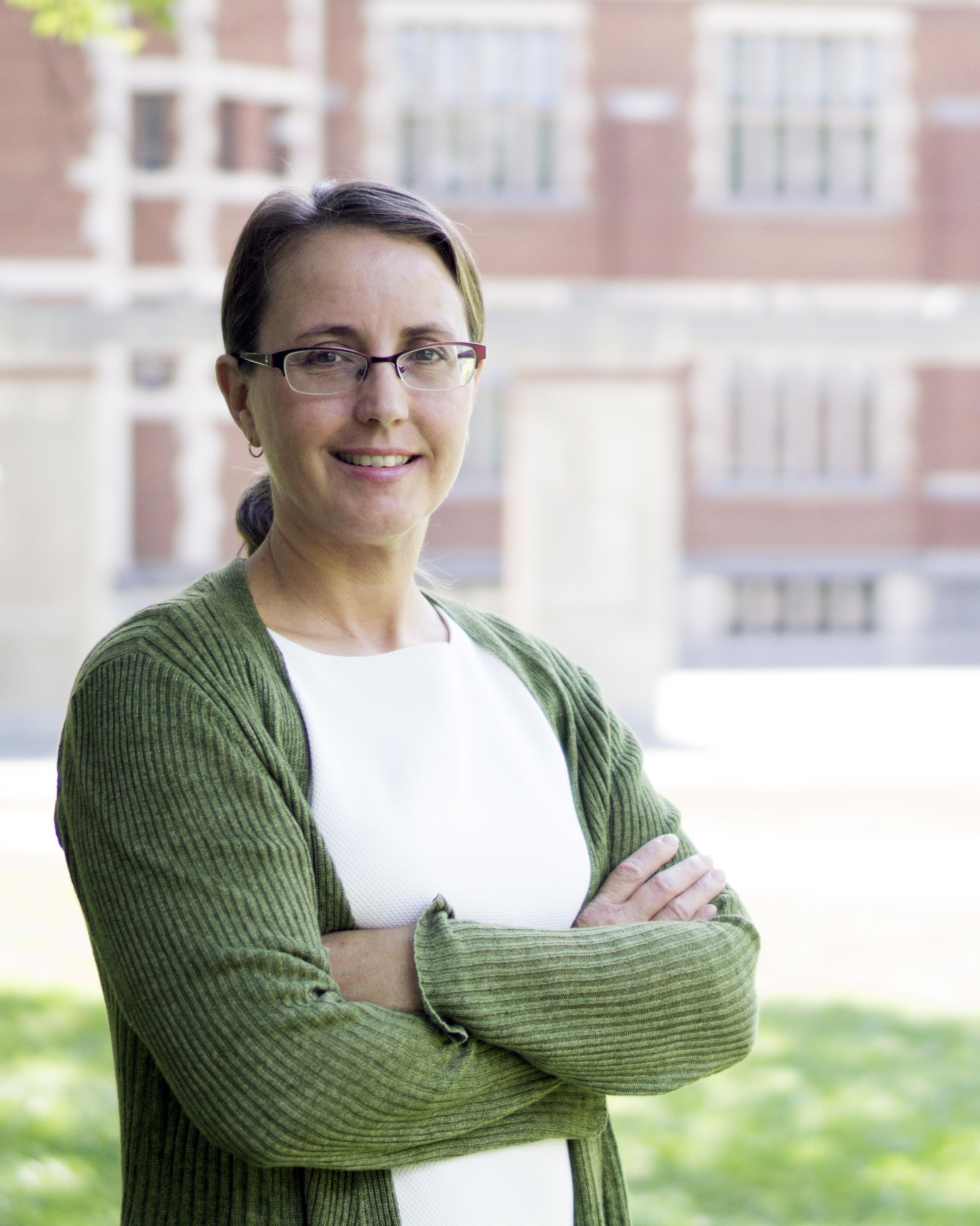 Rebecca Graves-Bayazitoglu, Director of the McGraw Center and Associate Director of the College