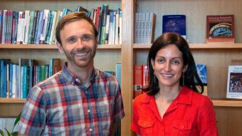 McGraw Center's Faculty Fellows for the 2019-20 academic year are Mari Jo Velasco and Kasey Wagoner.