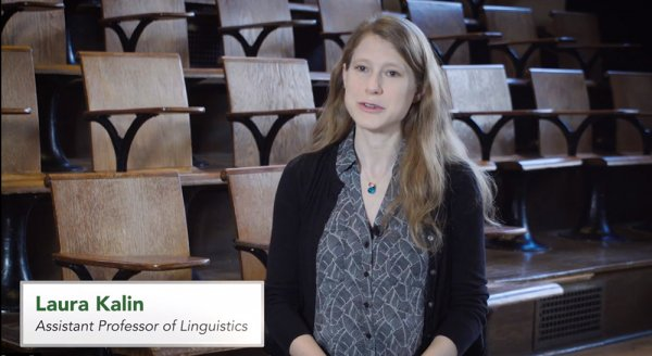 Laura Kalin - Linguistics