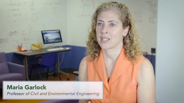 Maria Garlock, Civil and Environmental Engineering