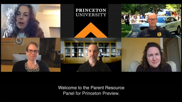 Welcome to the Parent Resource Panel for Princeton Preview