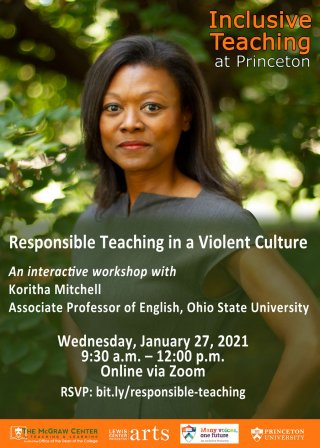 Koritha Mitchell Responsible Teaching in a Violent Culture