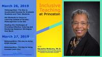 Inclusive Teaching at Princeton with Dr Saundra McGuire