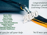 Class of 2020 McGraw's graduating Learning Consultants