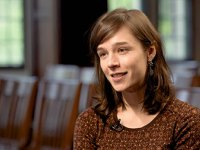 Sarah Carson named a winner of Porter Ogden Jacobus Fellowship