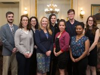 Graduate School honored eight graduate students for its annual teaching awards.