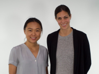 Princeton students, Tracy Reuter and Felicia Zhang