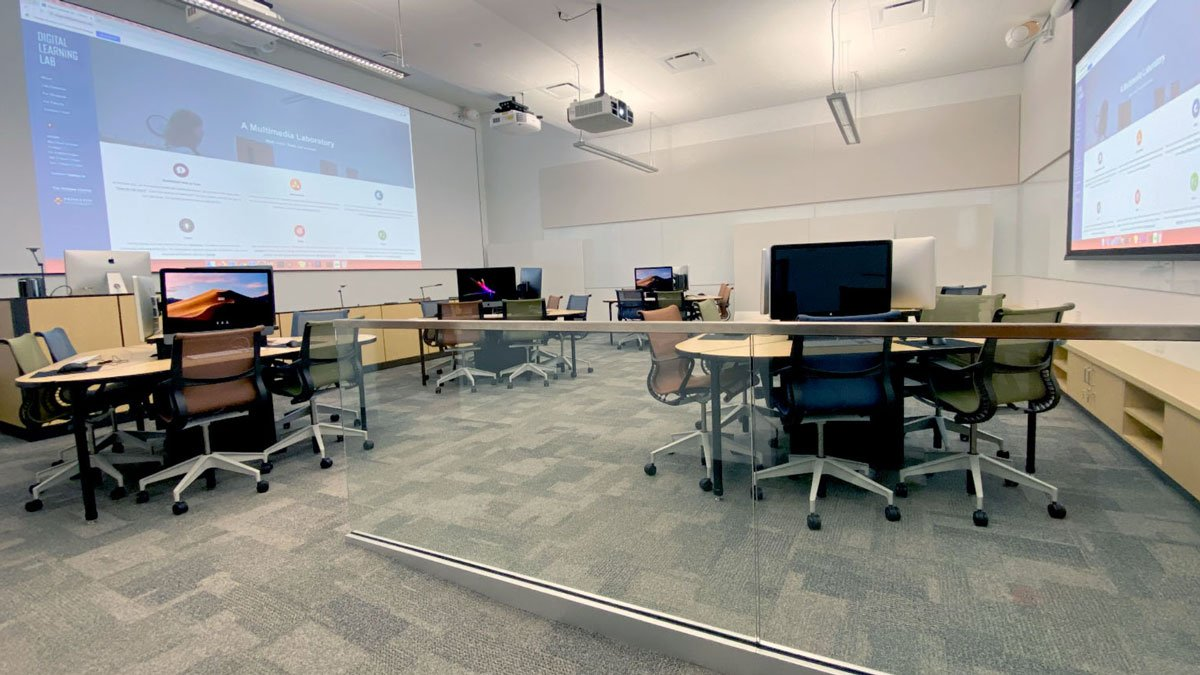 McGraw's Digital Learning Lab newly renovated