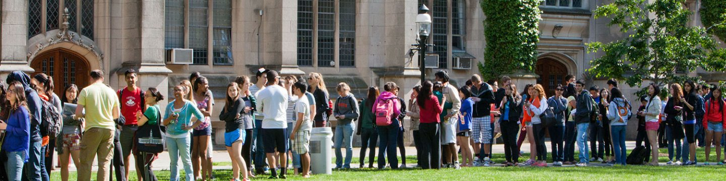 A Dean's Date gathering of diverse undergraduate students.  Photo by Princeton University Office of Communications (2013)