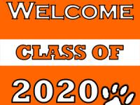 welcome class of 2020