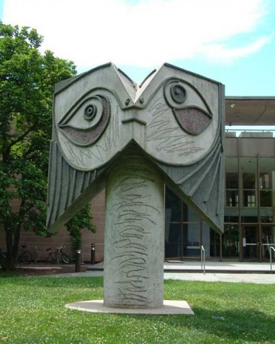 Designed 1962 by Pablo Picasso, executed 1971 by Carl Nesjar, Head of a Woman