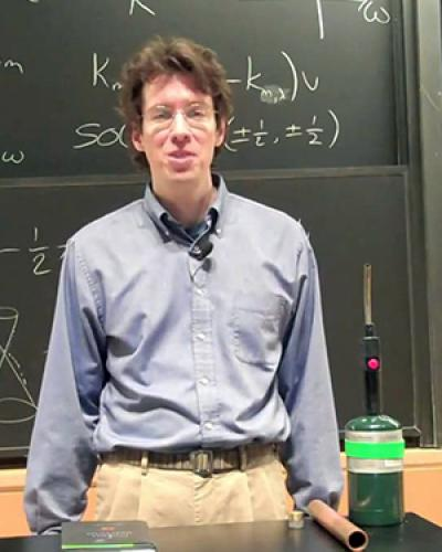 Steven Gubser, Professor of Physics, Associate Chair of the Department of Physics